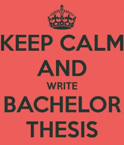 bachelor thesis topics
